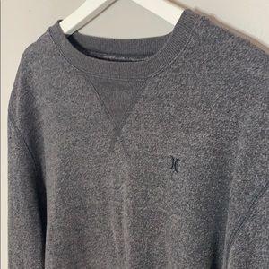 Hurley Grey faded sweatshirts, size Large